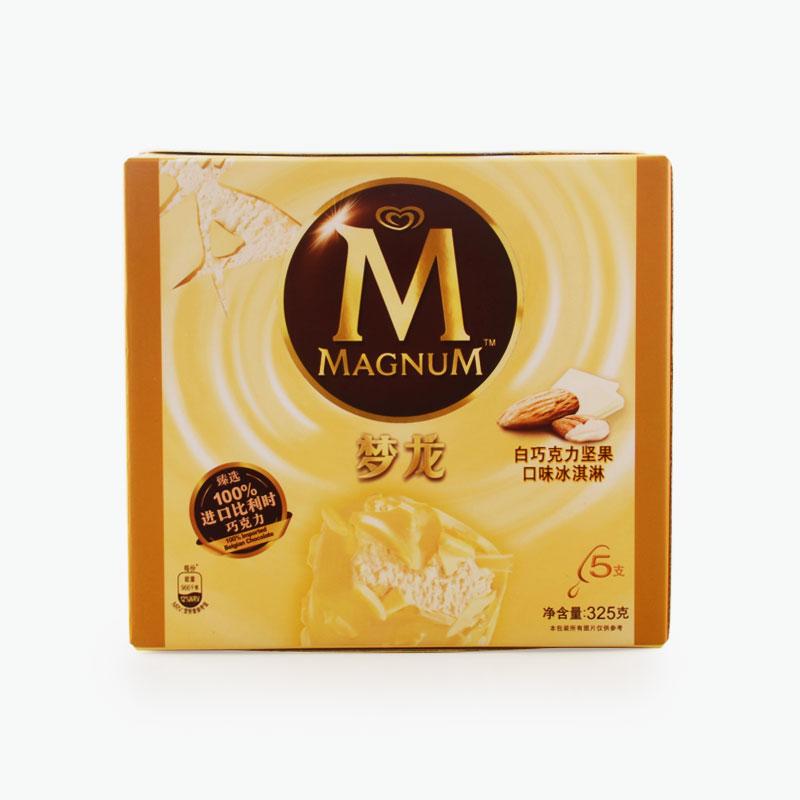 Magnum, White Chocolate Almond Ice Cream Bars 65g x5