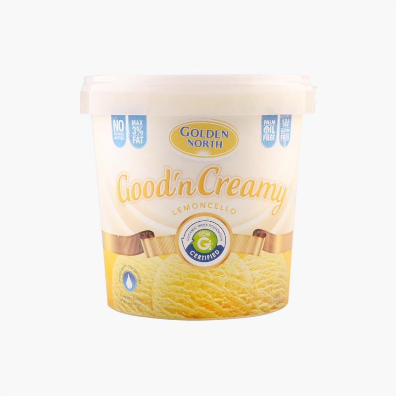 Golden North Creamy Lemoncello Ice Cream1.2L