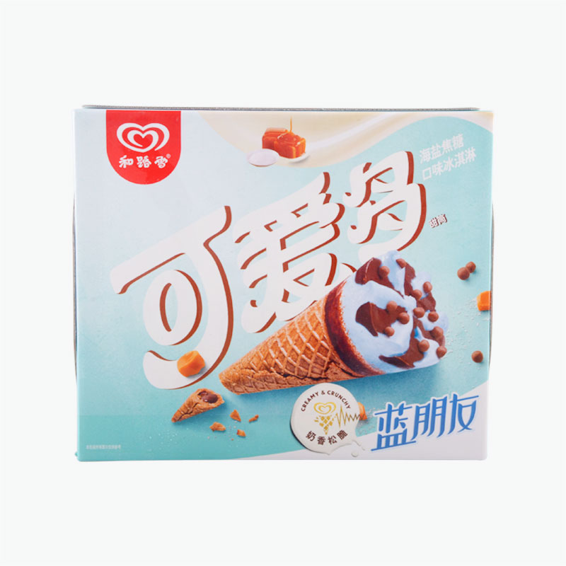 Wall's, 'Cornetto' Caramel Sea Salt Ice Cream (Cone) 66g*6