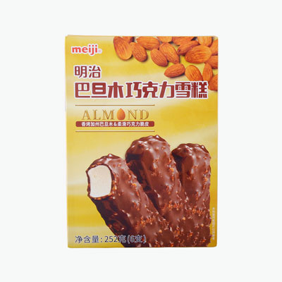 Meiji Almond Chocolate Ice Cream x6 42g