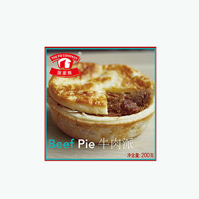 The Pie Company, Beef Pie 200g