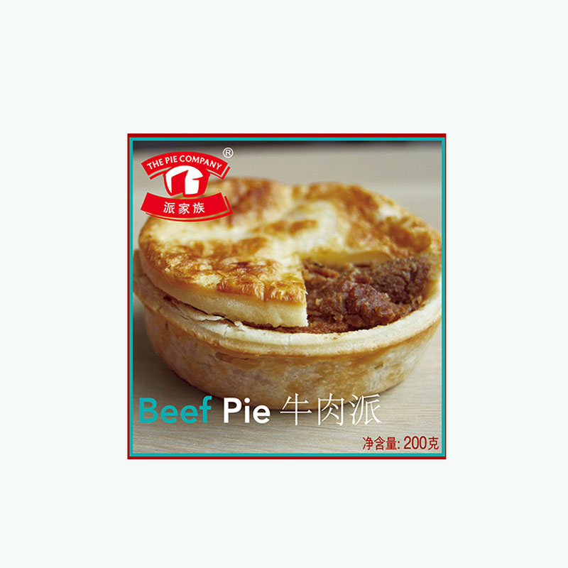 The Pie Company, Beef Pie 200g