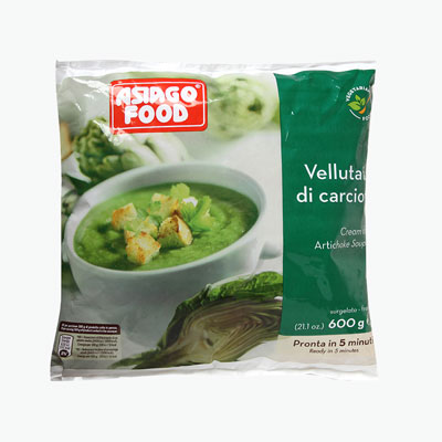 Asiago Food Cream Of Artichoke Soup 600g