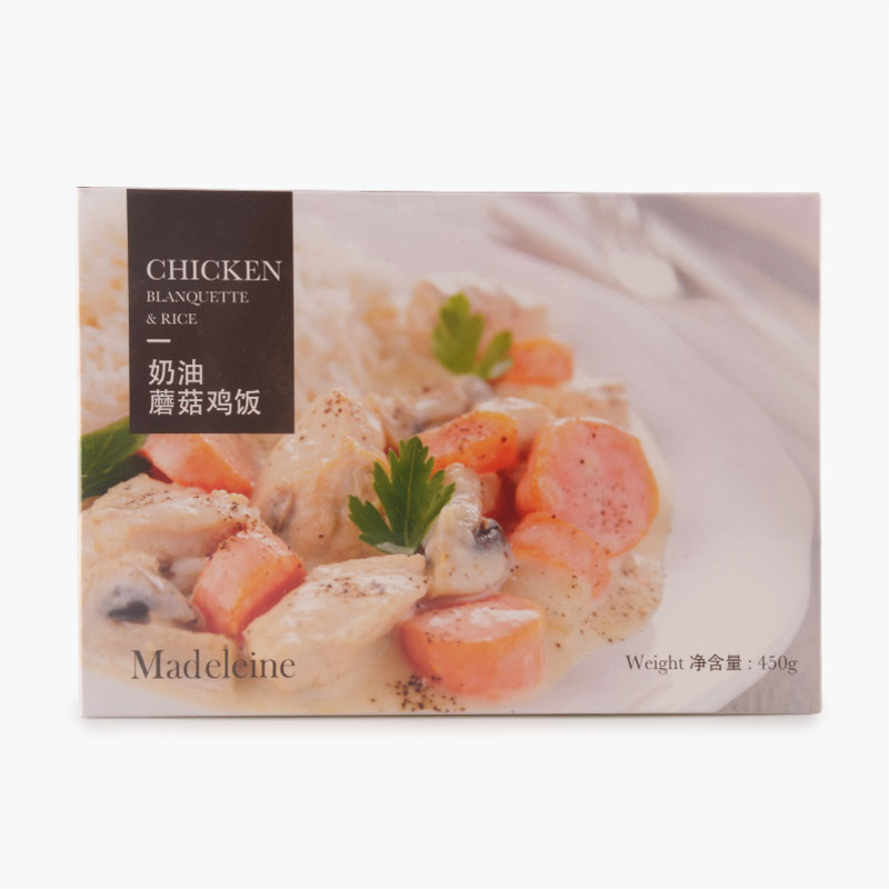 Madeleine Chicken Blanquette with Rice 450g