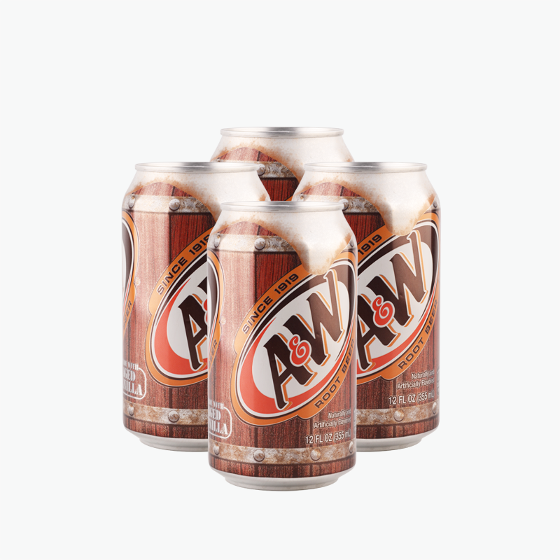 A&W Root Beer 355ml*4