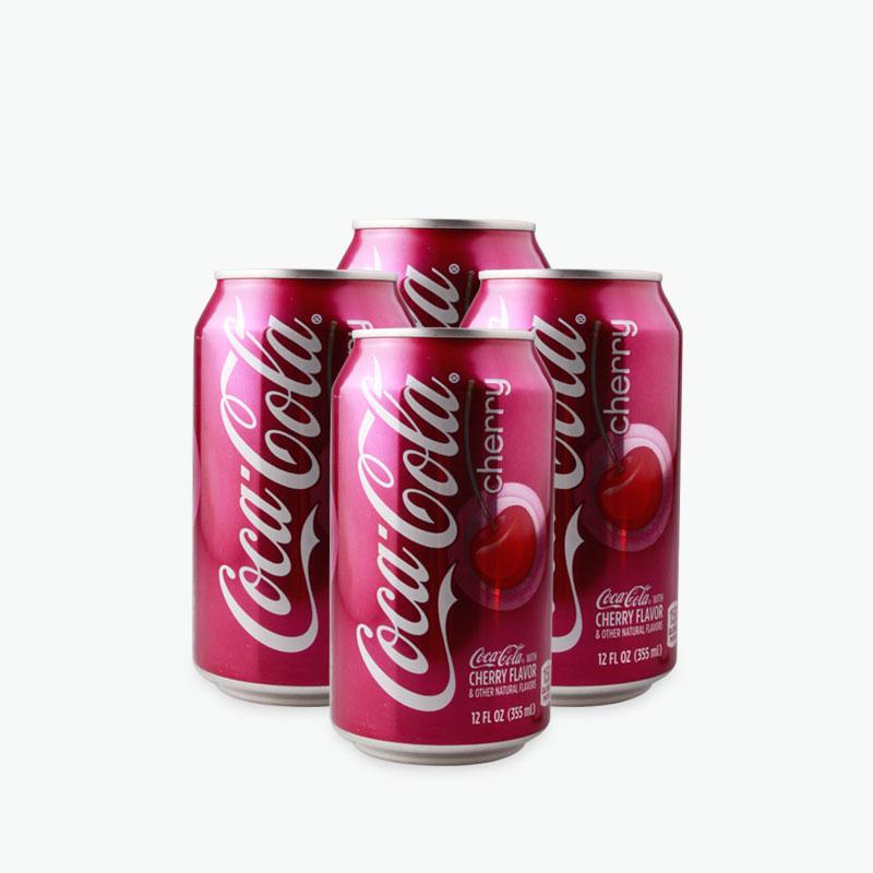 Coca Cola Cherry 355ml x4