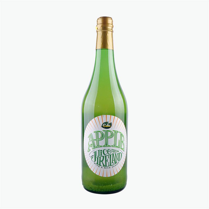 Eulla Sparkling Apple Juice 750ml