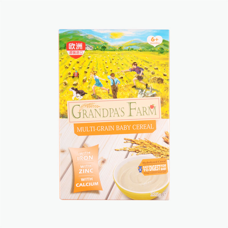 Grandpa'S Farm Infants, Multi-Grain Rice Powder 225g