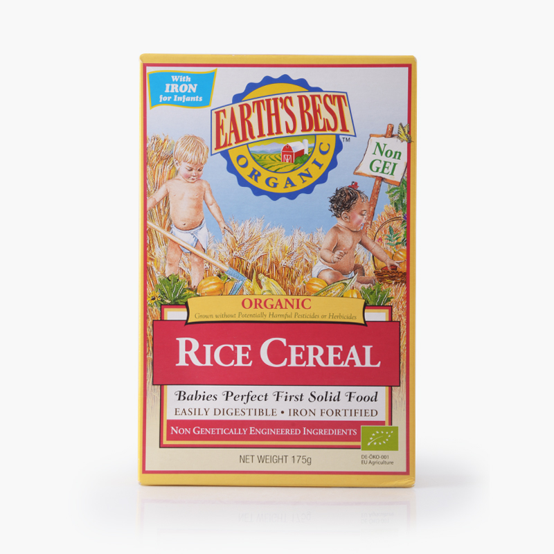 Earth's Best, Rice Cereal for Babies 175g