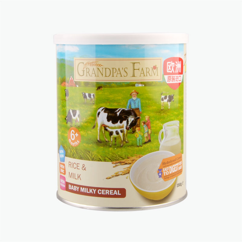 Grandpa'S Farm Infant Rice Milk Rice Powder 350g