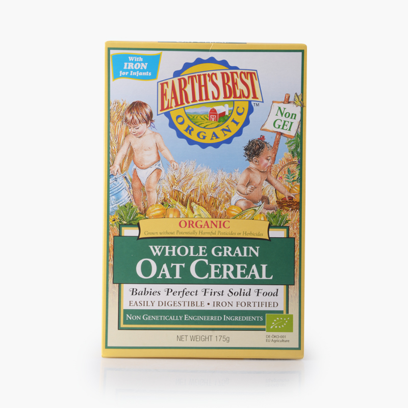Earth's Best, Whole Grain Oat Cereal for Babies 175g