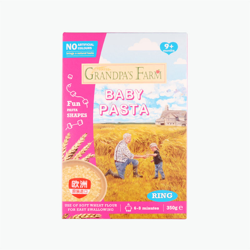 Grandfather'S Farm Baby Infantry Ring Pasta 350g