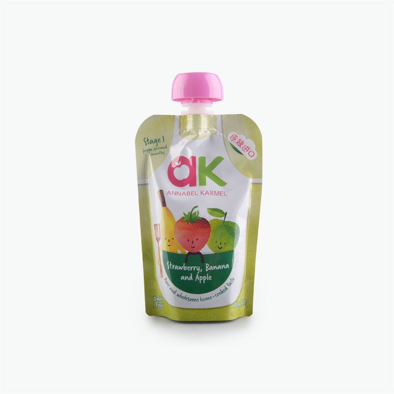 Apple Strawberry and Banana Puree 100g