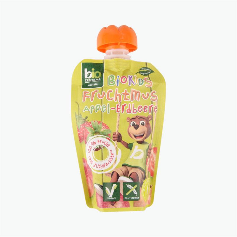 BIO Kids Apple Strawberry Puree 90g