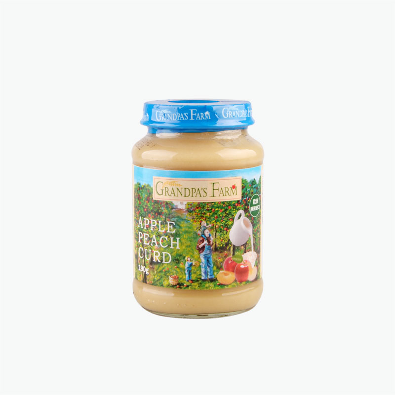 Grandpa's Farm Apple Peach Milkshake Jam 190g