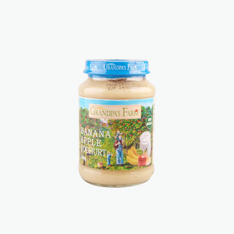 Grandpa's Farm Banana Apple Yogurt Jam 190g