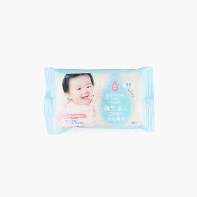 Johnson's, Hand & Face Baby Wipes x10