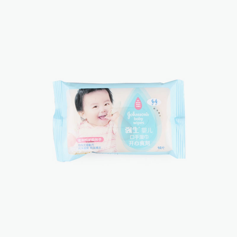 Johnson's, Hand & Face Baby Wipes x10