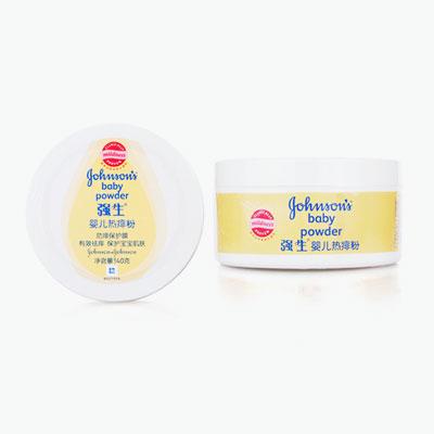 Johnson's, Prickly Heat Baby Powder 140g