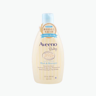 Aveeno Baby Daily Care Shampoo & Shower Gel 354ml