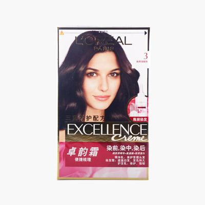 L'Oreal Hair Dye 3 Natural Dark Brown  172ml