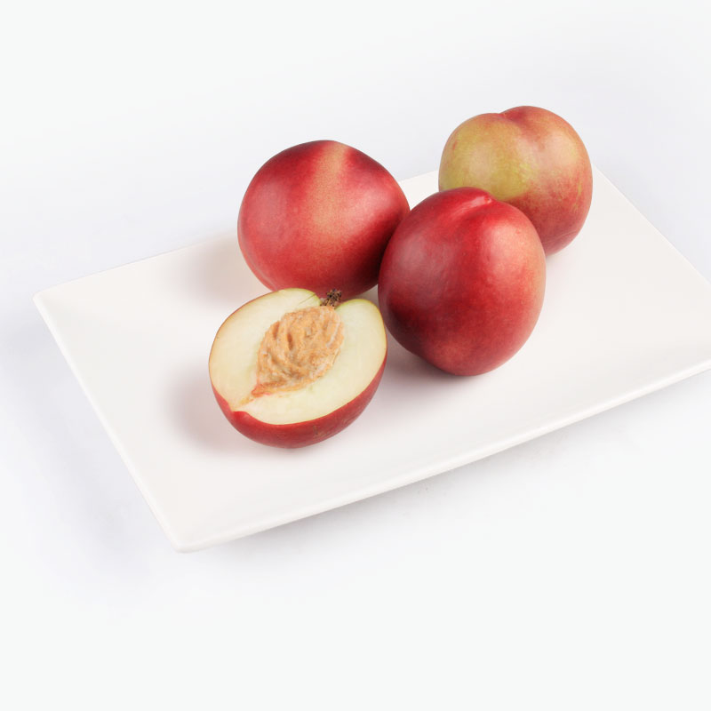 White Nectarines x4 660g~700g