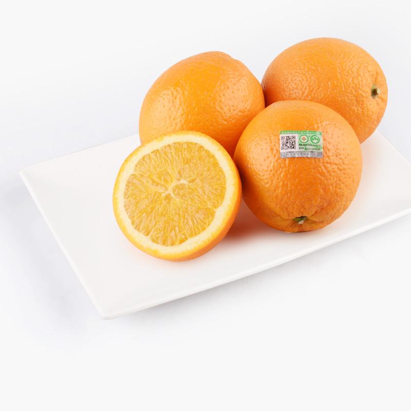 Organic Navel Oranges x4  900g~940g