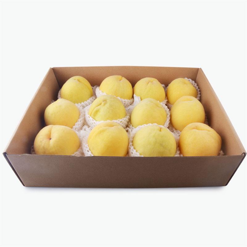 Yellow Peaches Gift Box x12 3.5kg-3.8kg