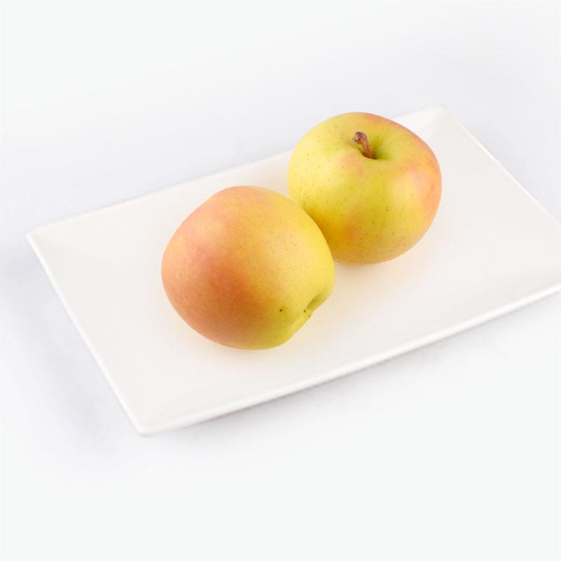Japanese Peach Apple 2pcs 520g~560g