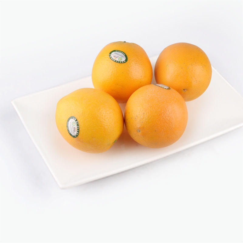 Organic Navel Oranges x4 800~850g