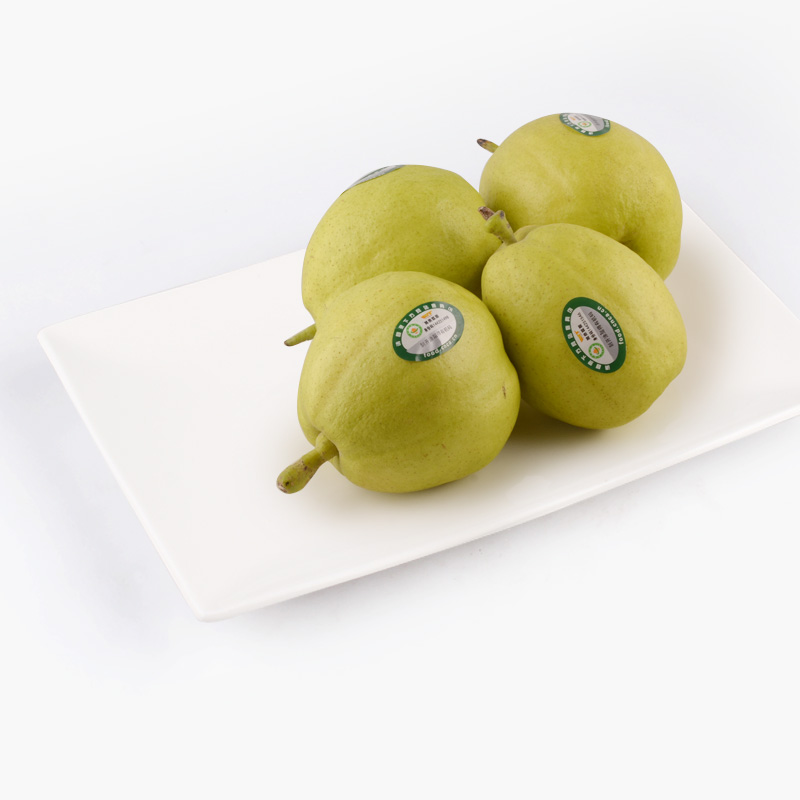 Organic Premium Fragrant Pears x4 400g-500g
