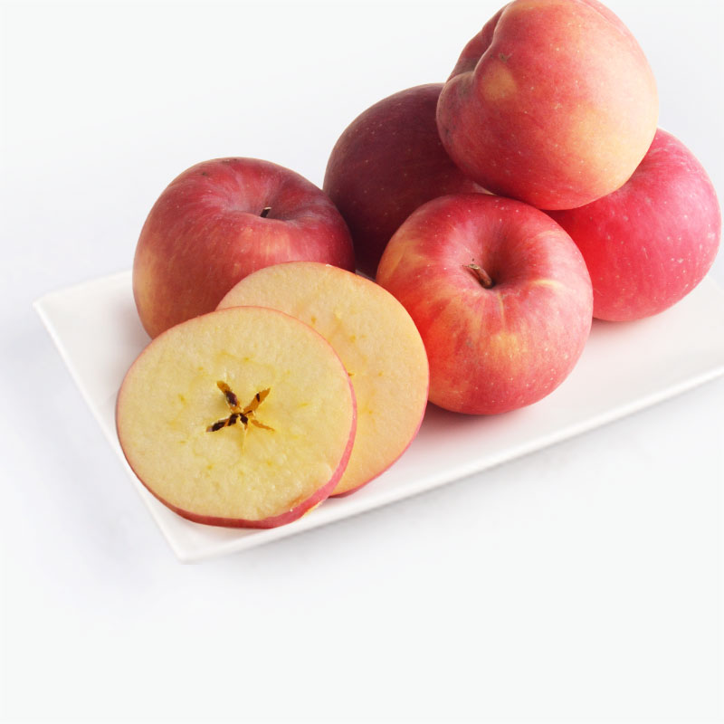 Organic Fuji Apples 6pcs 1~1.1kg
