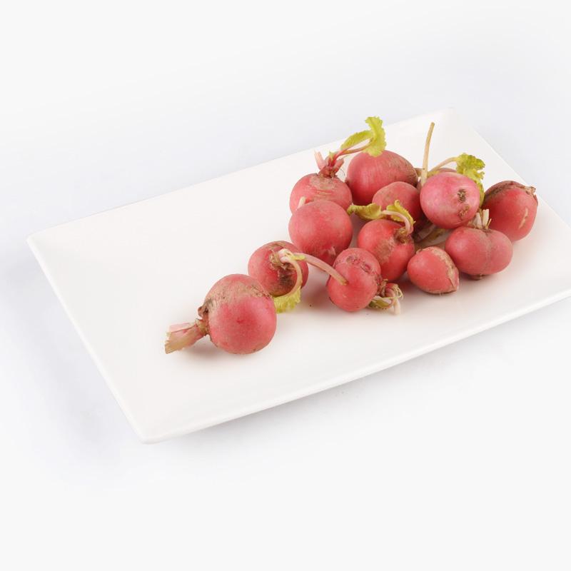 Organic Red Radishes 250g