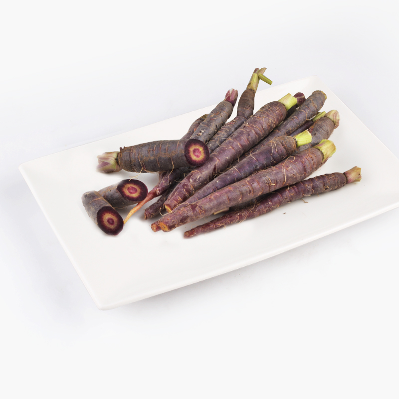 Organic Purple Heirloom Carrots 300g