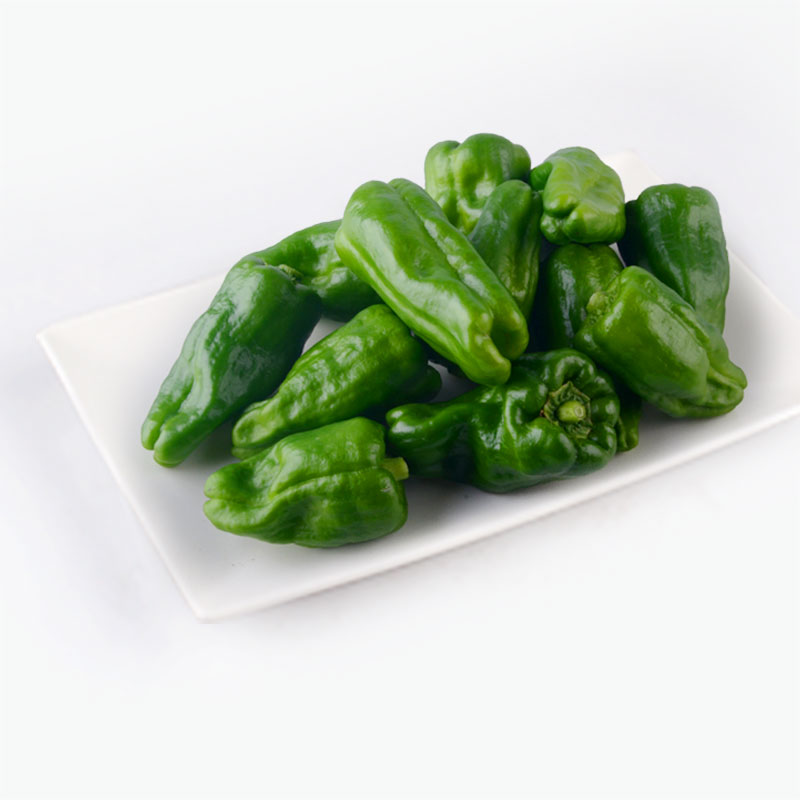 Organic Green Peppers 250g
