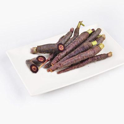 Organic Purple Heirloom Carrots 300g
