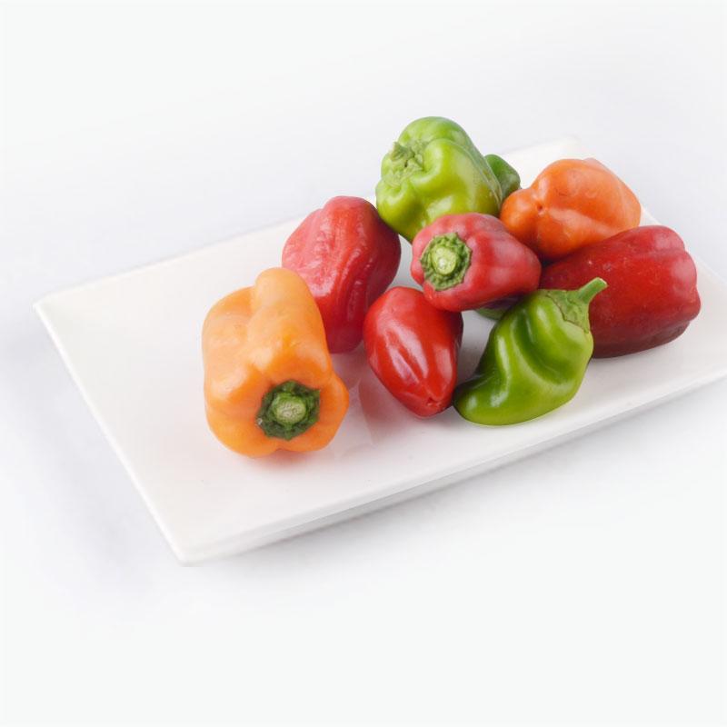 Organic Mixed Bell Peppers  250g