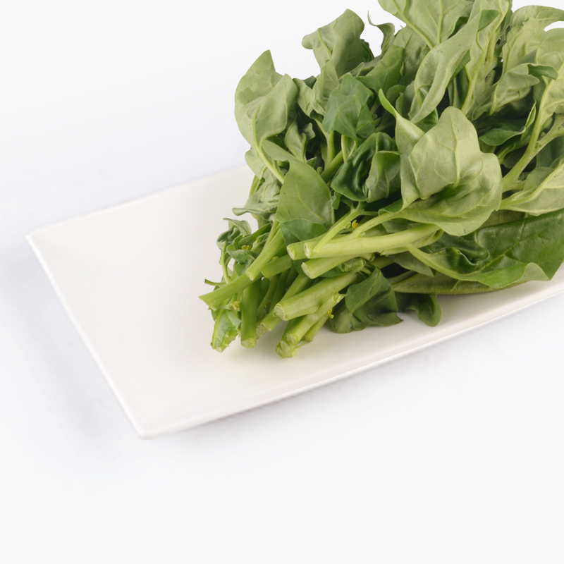 Organic French Leaf Spinach 250g