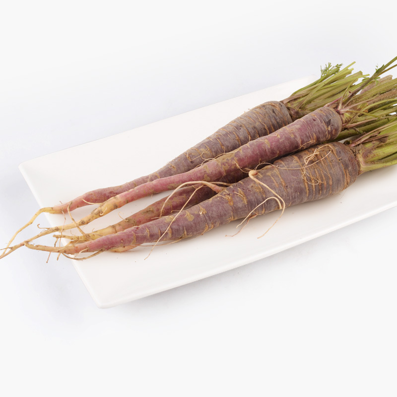 Natural Heirloom Purple Carrots 500g