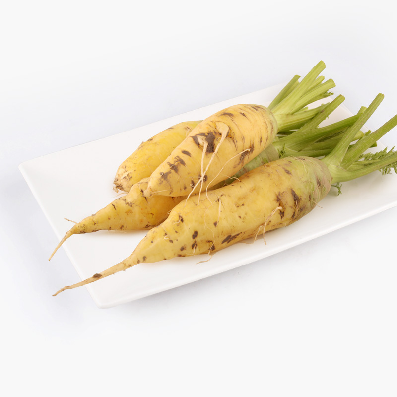 Natural Heirloom Yellow Carrots 500g