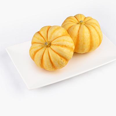 Baby Yellow Pumpkins 400g 2pcs