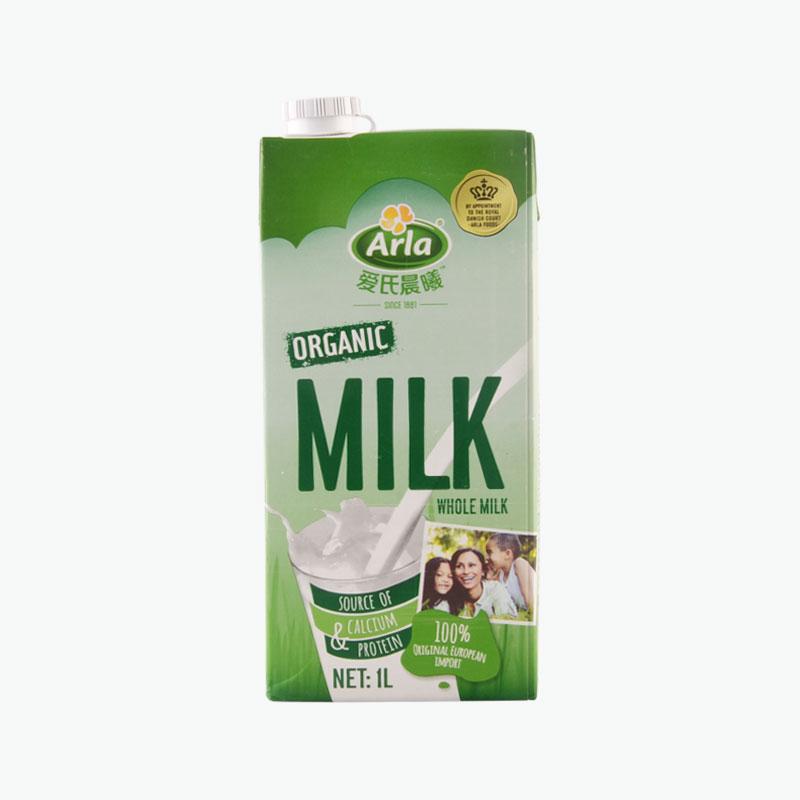 Arla Organic Whole Milk 1L