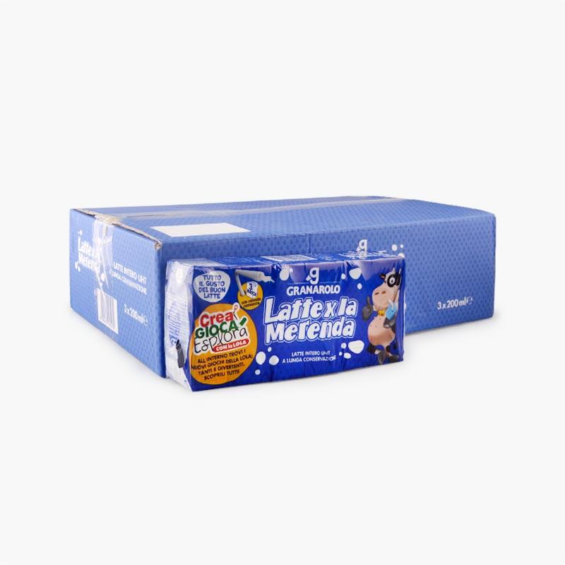 Granarolo Full Fat UHT Milk 200mlx24