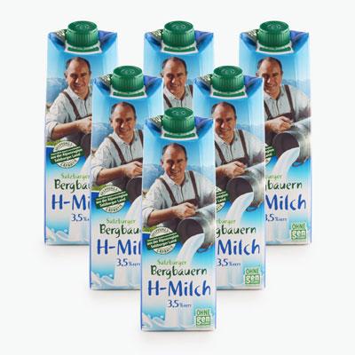 Salzburgerland Whole Milk 1L x6