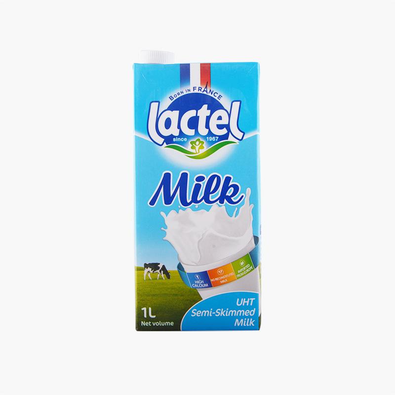 Lactel Semi Skimmed Milk 1L