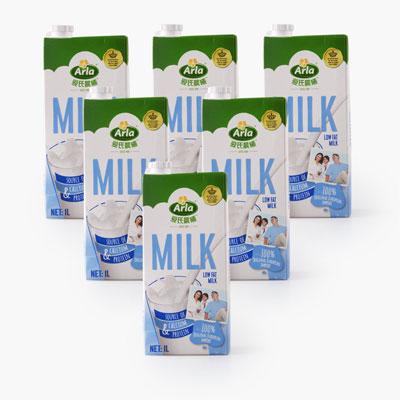 Arla Low Fat Milk 1L x6