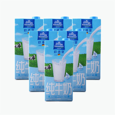 Oldenburger Semi Skimmed Milk 1L x6