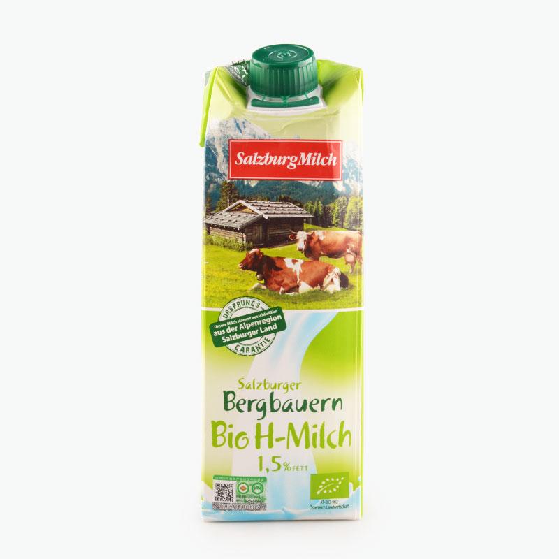 Salzburgerland Organic Semi Skimmed Milk 1L