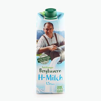 Salzburgerland Semi Skimmed Milk 1L