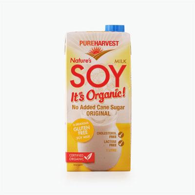 Pureharvest Organic Soy Milk 1L